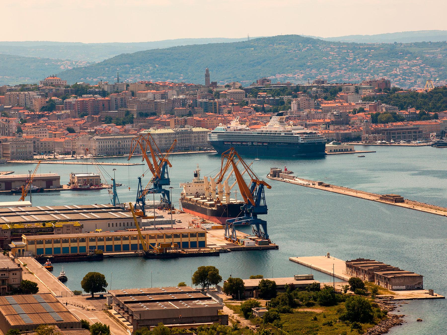 Il Gruppo Tosto conquista il porto di Trieste